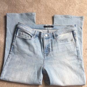 J Brand Wide Leg Crop